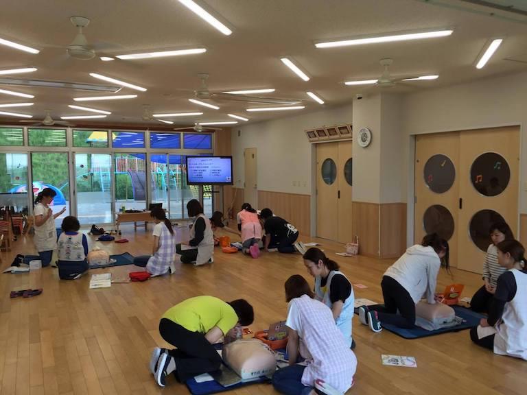 加江田保育園職員研修03